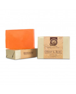 Health Horizons Hemp and Rose Soap 125gm