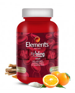 Elements Fealing Iron 60 Capsules