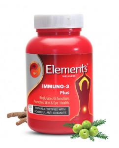 Elements Immuno 3 Plus 60 Capsules