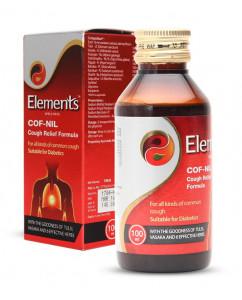 Elements Cof Nil Cough Relief Formula 100ML