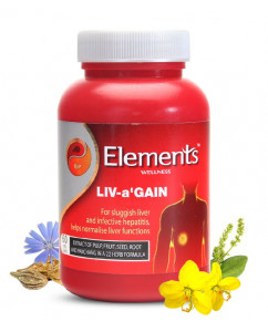 Elements Liv a Gain 60 Caps