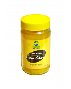 Organic Wellness Zeal Cow Ghee