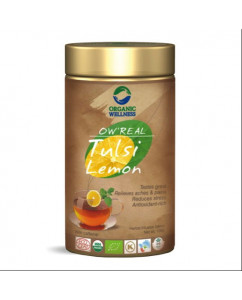 Organic Wellness Real Tulsi Lemon