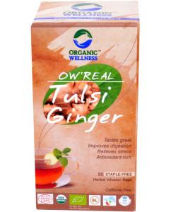 Organic Wellness  Real Tulsi Ginger