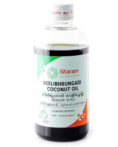 Sitaram Neelibringadi Coconut Ayurvedic Herbal Oil 200ml
