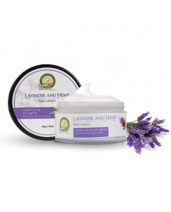 Health Horizons Lavender and Hemp Face Cream 50gm