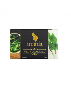 Iremia Neem Oil and Basil Oil Soap 100gm