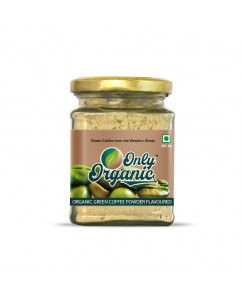 Organic Green Coffee Powder Flavoured 125gm