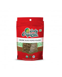Organic Black Pepper Powder 100gm