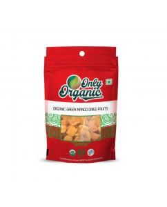 Organic Green Mango Dried Fruits 100gm