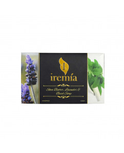 Iremia Shea Butter Soap with Lavender and Basil Essential Oil Soap 100gm