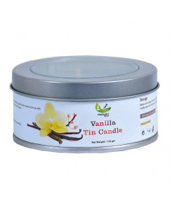 Vedagiri Vanilla Tin Candle 110gm
